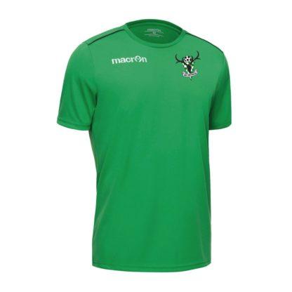 macron rigel t-shirt green