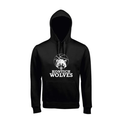 hoodie Kontich wolves zwart
