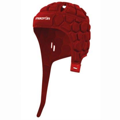 macron rugby helmet rood