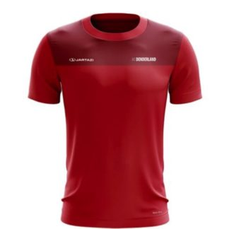 ac denderland t-shirt rood jartazi bari