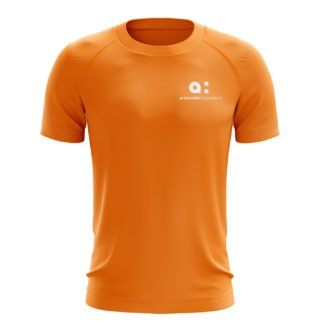 Arteveldehogeschool t-shirt oranje