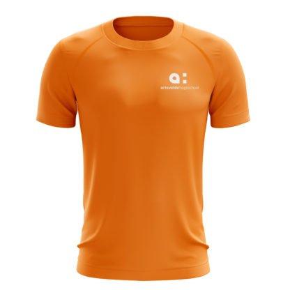 Arteveldehogeschool t-shirt oranje