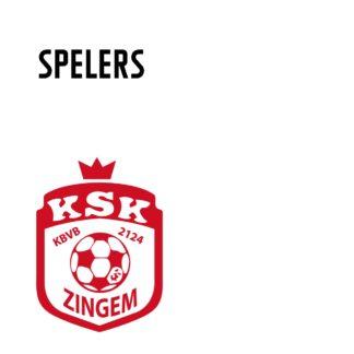 Spelers KSK Zingem